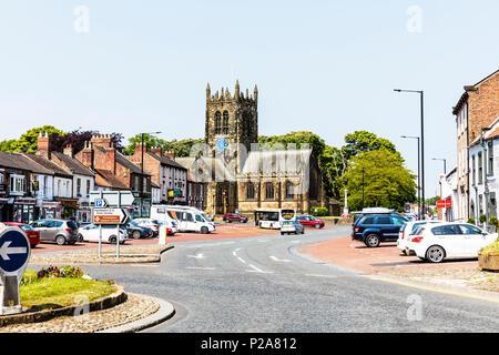 All Saints Parish Church, Northallerton, North Yorkshire, England, UK, northallerton yorkshire uk, All Saints Parish Church Northallerton, UK churches - Stock Image