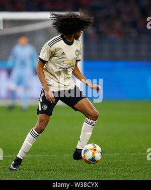 Optus Stadium, Perth, Western Australia. 13th July, 2019. Pre-season friendly football, Perth Glory versus Manchester United; Tahith Chong of Manchester United Credit: Action Plus Sports/Alamy Live News - Stock Image