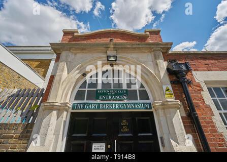 repton boxing club east london - Stock Image