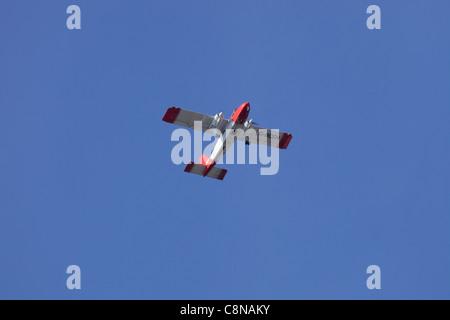 Britten-Norman Islander G-BCEN in flight : clear sky - Stock Image