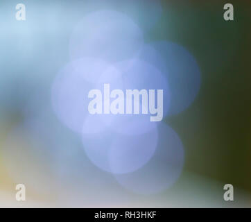 Beautiful bokeh out of focus background with copyspace for text - Stock Image