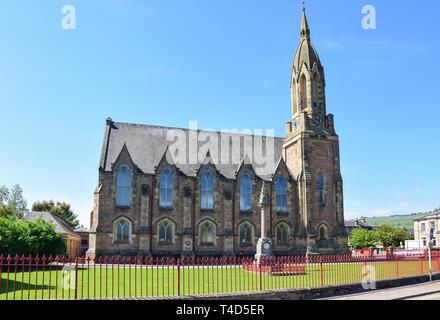 Dingwall & Strathpeffer Free Church, High Street, Dingwall, Highland, Scotland, United Kingdom - Stock Image