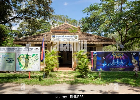 Tourist Information Centre for Mekong Tourism Development Project. Siem Reap, Cambodia, southeast Asia - Stock Image