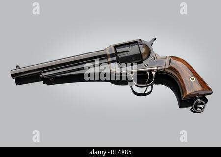 1875 Remington SA Outlaw cal.44RF Revolver - Stock Image