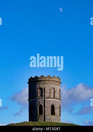 Solomon's Temple, Buxton. 26th Jan, 2018. UK Weather: bright blue skys over Solomon's Temple Buxton Derbyshire, - Stock Image