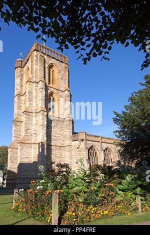 Church of St John the Baptist, Yeovil, Somerset - Stock Image