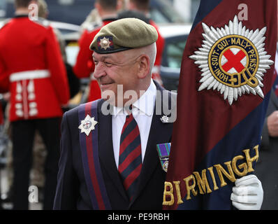 Former Coldstream Guardsman at Coldstream Civic Week - Stock Image