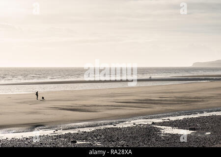 The Beach at Rye, East Sussex, UK - Stock Image