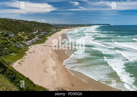 Wilderness beach on the Garden Route in the Western Cape Province in South Africa. - Stock Image