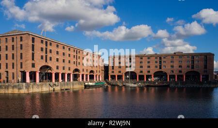 Albert Dock, Liverpool - Stock Image