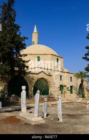 Hala Sultan Tekke Mosque, Larnaca, Cyprus - Stock Image