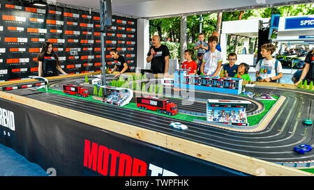 Turin, Piedmont, Italy. 22nd June 2019. Italy Piedmont Turin Valentino park Auto Show 2019 - Track car Credit: Realy Easy Star/Alamy Live News Credit: Realy Easy Star/Alamy Live News - Stock Image