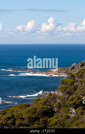 Cape Naturaliste coastline, Western Australia - Stock Image