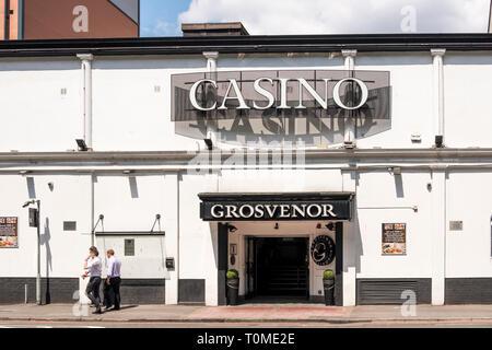 Grosvenor Casino, Bristol, UK - Stock Image