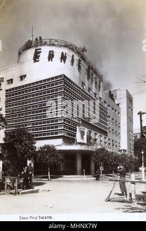 Ernie Pyle (Takarazuka) Theatre, Tokyo, Japan.      Date: circa 1946 - Stock Image