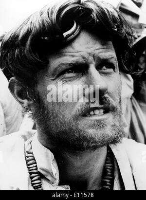 Aug 09, 1975 - London, England, UK - Race car driver MIKE BANKS - Stock Image