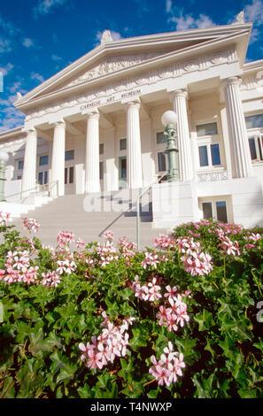 California Ventura County Oxnard C Street Carnegie Art Museum Neo classical style - Stock Image