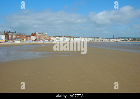 Weymouth seafront - Stock Image