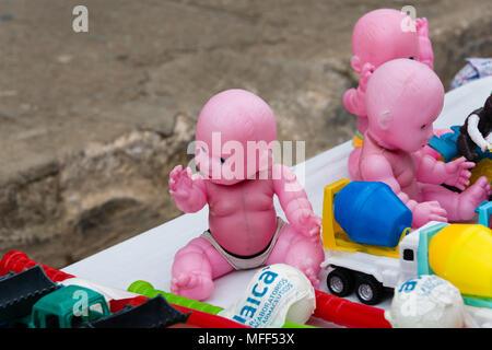 Street Market Dolls - Stock Image