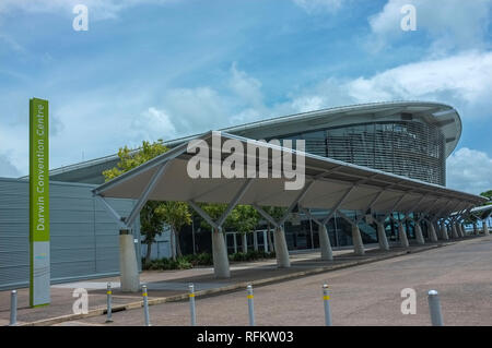 Darwin Convention Centre in Darwin City, Northern Territory, Australia. - Stock Image