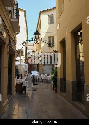 Pasaje Chinitas. Málaga, Andalucía, Spain. - Stock Image