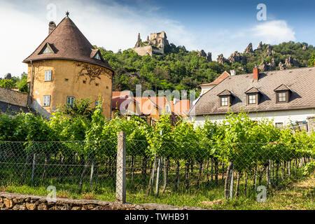 Durnstein. Wachau Valley. Austria. - Stock Image