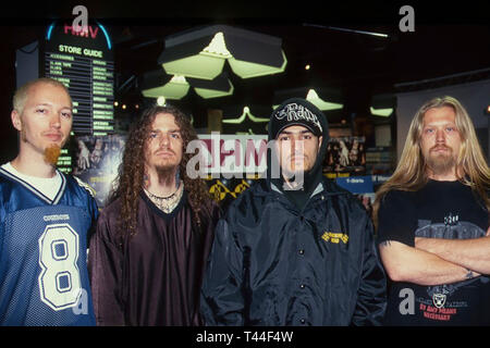 MACHINE HEAD American heavy metal group in 1997 - Stock Image