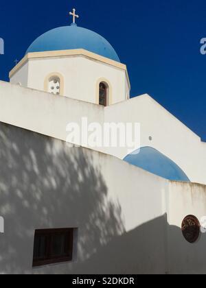 Greek church - Stock Image