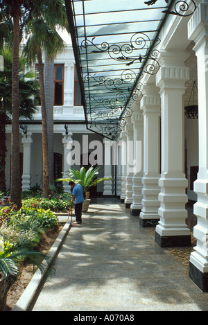 Covered Walkway in one of the University Buildings Caracas Venezuela - Stock Image