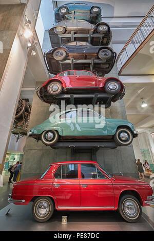 science musuem car display - Stock Image