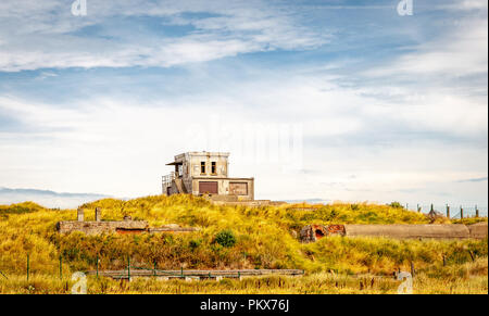 Bunker in Ostend - Stock Image