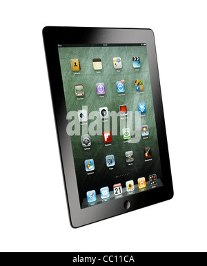 A cut out shot of an iPad - Stock Image