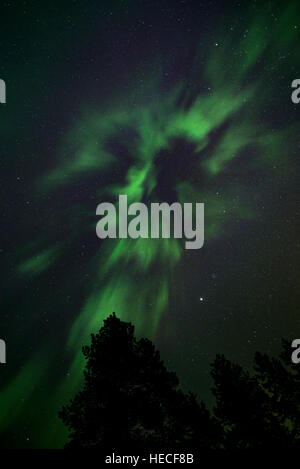 Northern lights - Stock Image
