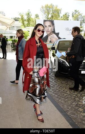 72nd Cannes Film Festival 2019, Celebrity Sightings. Pictured: guest  When: 15 May 2019 Credit: IPA/WENN.com  **Only available for publication in UK, USA, Germany, Austria, Switzerland** - Stock Image