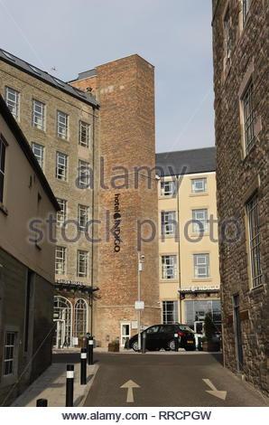 Hotel Indigo Dundee Scotland  February 2019 - Stock Image