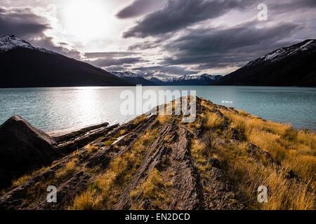 Lago Argentino, Parque Nacional Los Glaciares, Santa Cruz, Argentina - Stock Image