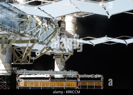 ISS-45 EVA-2 (d) Kjell Lindgren - Stock Image