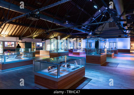 National Waterfront Museum, Swansea, Wales, UK - Stock Image