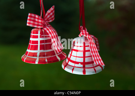Christmas bells are landing 3 - Stock Image