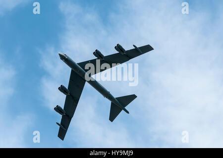 USAF B-52 Stratofortress - Stock Image