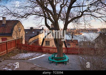 Sodermalm Stockholm - Stock Image