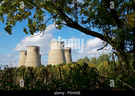 Drax power station, North Yorkshire, England UK - Stock Image