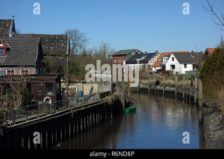 estebrugge in the old country - Stock Image