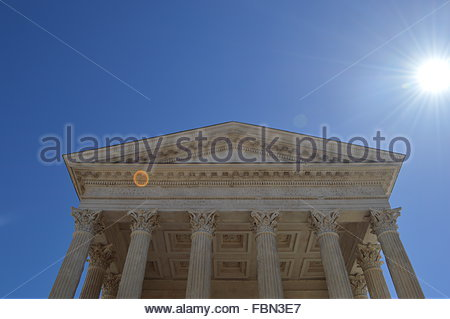 Low Angle View Of Temple - Stock Image