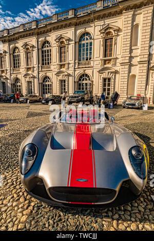Piedmont Turin - Turin auto show 2019  - Valentino park - Valentino castle -Jannarelli - Stock Image