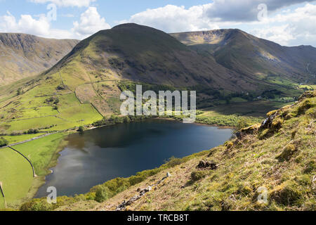 Brothers Water with Hartsop Dodd and Caudale Head Beyond, Lake District, Cumbria, UK - Stock Image