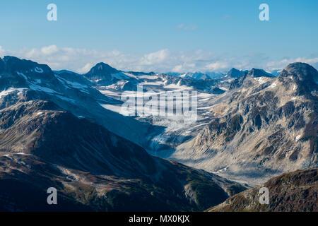 Aerial of Lake Clark National Park and Preserve, Alaska, United States of America, North America - Stock Image