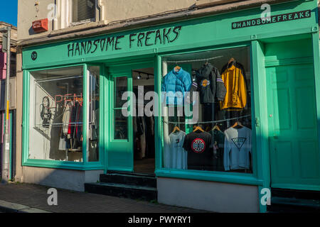 Handsome Freaks,Clothes Shop,Old Town,Margate,Thanet,Kent,England,UK - Stock Image