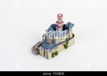Souvenir of Marksburg castle - Stock Image