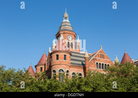 Old Red Museum Dallas Texas USA - Stock Image